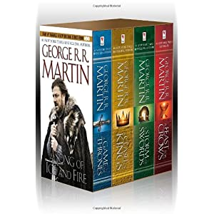 George R. R. Martin's A Game of Thrones 4-Book Boxed Set: A Game of Thrones, A Clash of Kings, A Storm of Swords, and A Feast for Crows (A Song of Ice and Fire)