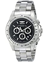 Invicta Men's 18390 Speedway Analog Display Japanese Quartz Silver Watch