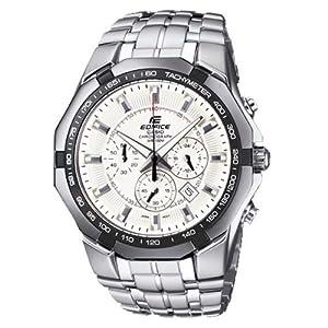 Casio Edifice Chronograph White Dial Men's Watch - EF-540D-7AVDF (ED373)
