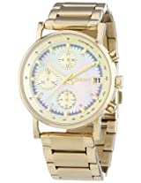 DKNY Chronograph Mother of Pearl Dial Women's Watch - NY4332