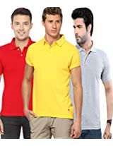 Concepts Men's Casual Shirt (TSHT_C3_RDYWGY_Multi_44)