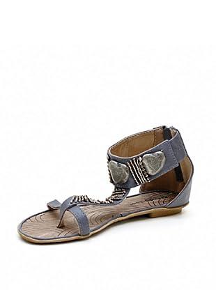 Trendy Too Sandalias Abalorios (Gris)