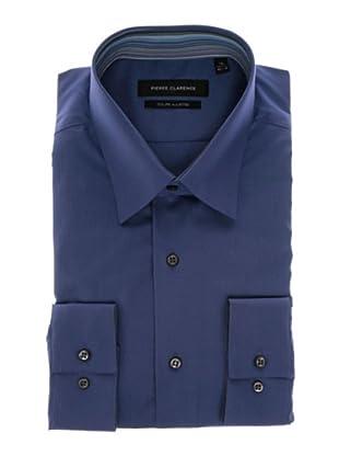 Pierre Clarence Camisa de manga larga (Azul Royal)