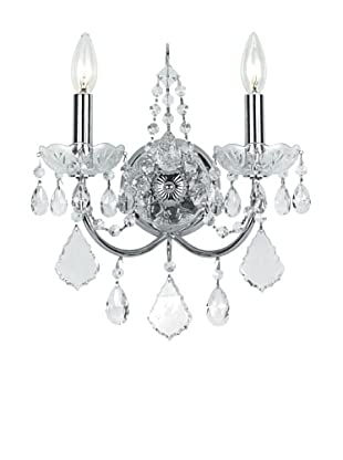 Gold Coast Lighting Elegant Wall Sconce, Polished Chrome