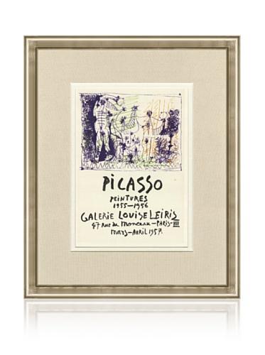 Pablo Picasso Galerie Louise Leiris, 1959, 16