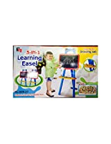 Saluja Toys 3 in 1 Learning Easel / Learning Toys
