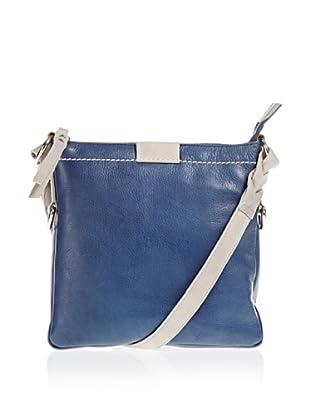 Borella Leder Cross-Body Bag (jeans/hellgrau)