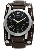 Maxima Attivo Analog Black Dial Men's Watch - 24263LMGI