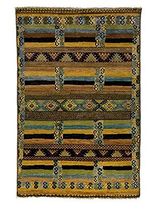 Darya Rugs Kaitag Oriental Rug, Gold, 5' 10
