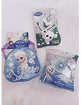 Disney Elisa-Light Up Necklace with Puzzle Bag Bundle