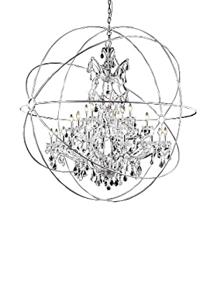 Urban Lights Hemisphere Pendant, Major, Nickel