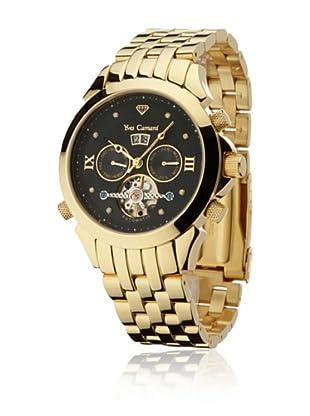 Yves Camani Reloj Navigator Diamante Oro / Negro
