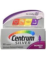 Centrum Silver Ultra Womens Multivitamin & Multimineral Supplement Tablets - 100 each