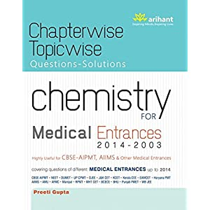 Chapterwise Topicwise Questions-Solutions Chemistry for Medical Entrances