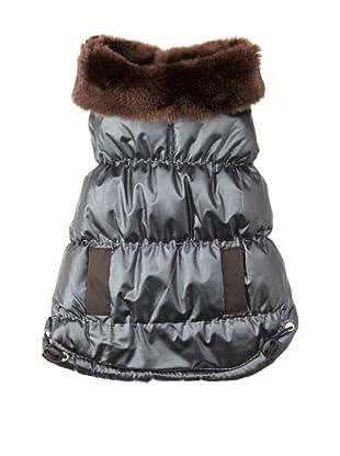 Pet Life Ultra-Fur Parka (Dark Brown)