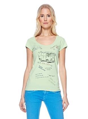 Herrlicher T-Shirt Kandeen (mantis)