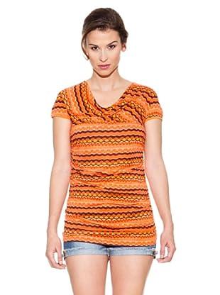 Mahal Camiseta Largo (Naranja)