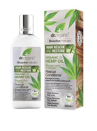 Dr Organic Balsamo Capelli Hemp Oil 265 ml