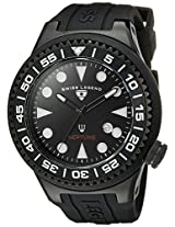 Swiss Legend Men's 21818D-BB-01-NB Neptune Black Dial Black Silicone Watch