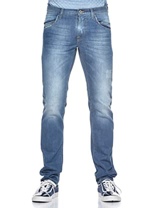 Love Moschino Pantalón 5 Bolsillos Regular (Azul Denim)