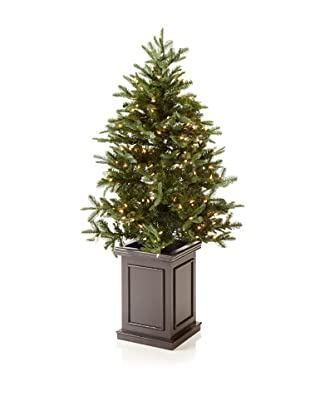 Sage & Co. Faux Noble Fir Tree in Wood Box