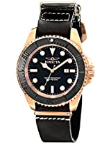 Invicta Analog Black Dial Men's Watch - 17582