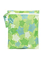 Bumkins Zippered Wet Bag, Turtles