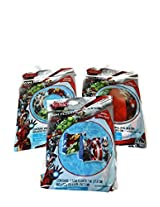 Avengers Pool Beach Bundle of 3 Items; Beach Ball Swim Ring Arm Floats