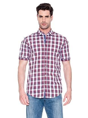 Hugo Boss Camisa Osborn (Rojo / Blanco)
