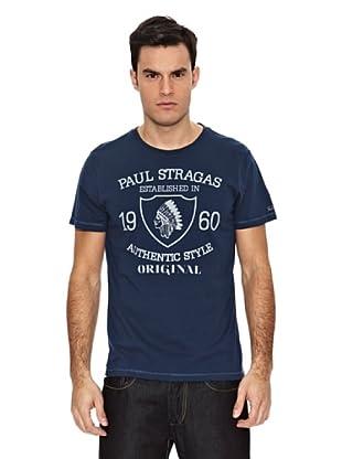 Paul Stragas Camiseta Dyme (Azul Noche)