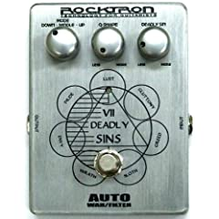 ROCKTRON BOUTIQUE VII DEADLY SINS AUTO WAH/FILTER