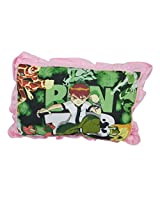 Thefancymart Pink & Green Designer Kids Pillow - 6
