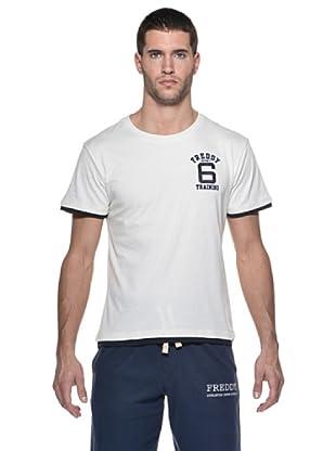 Freddy Camiseta Pure M / C (Blanco / Azul)