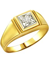 Diamond 18k Gold Men's Ring SDR532