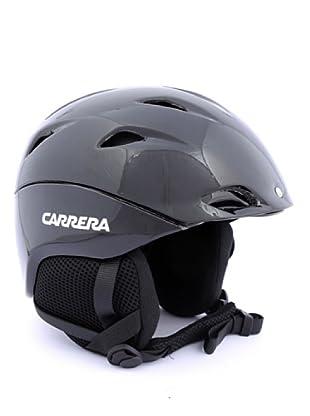 Carrera Casco de Esquí CA E00413 APEX BLACK SHINY (negro)