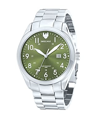 Swiss Eagle Reloj Field Metalizado