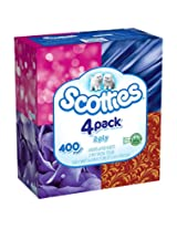 Scotties 2-Ply Facial Tissue, 4 Boxes, 100 Sheets (Pack of 6)