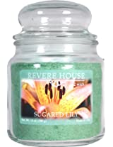 Candle-lite Revere House 14-Ounce Country Comfort Jar, Sugared Lily