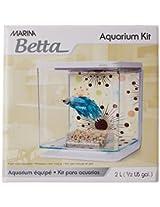 Hagen Marina Betta Aquarium Starter Kit, Boy Fireworks