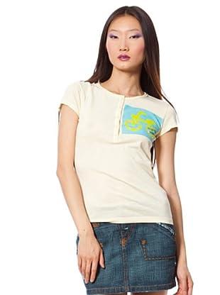 Custo Camiseta (Crema)