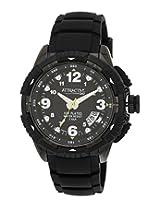 Q&Q Attractive Analog Black Dial Men's Watch - DA60J505Y