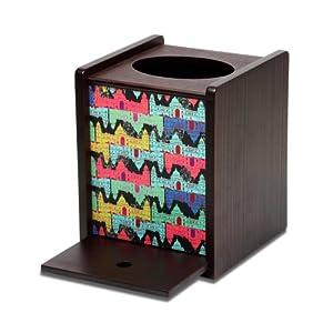 """Kuheli Mahal Maze Tissue Box Holder 5""""x5.25""""x6.25"""""""