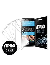 HTC Desire 526 Screen Protector Cover, Ultra Clear 5-Pack - MPERO