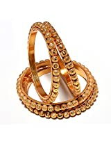 Bangles gold look high quality One Gram Gold plated handmade real bangles