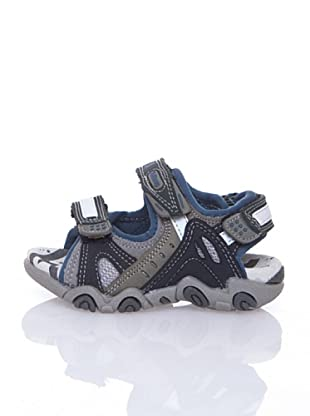 Billowy Sandalias Wash (Azul / Gris)