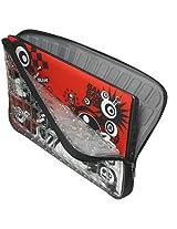 Samsill/Microsoft Altego 14 Clear Laptop Sleeve - Black/Red