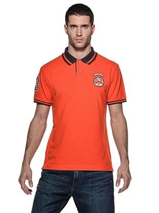 Timberland Polo Badge (Naranja)