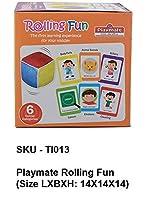 Playmate Rolling Fun(Size LXBXH: 14X14X14)