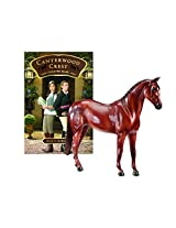 Breyer Canterwood Crest - Chasing Blue Horse and Book Set