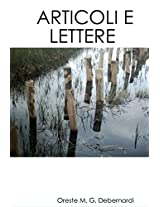 ARTICOLI E LETTERE (Collana Didattica Vol. 1) (Italian Edition)